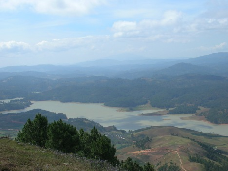 Triền Lang Biang, Đà Lạt (Ảnh: Nguyễn Quốc Chánh)