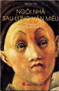 """Bìa """"Ngôi Nhà Sau Lưng Văn Miếu"""""""