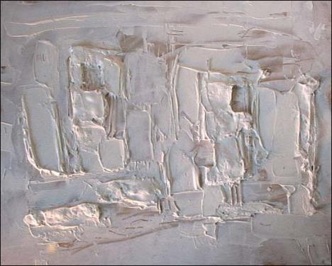 Nhà 6. Nguyễn Danh Bằng (sơn dầu trên các-tông)